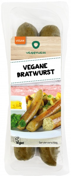 Veggyness Vegane Bratwurst VPE