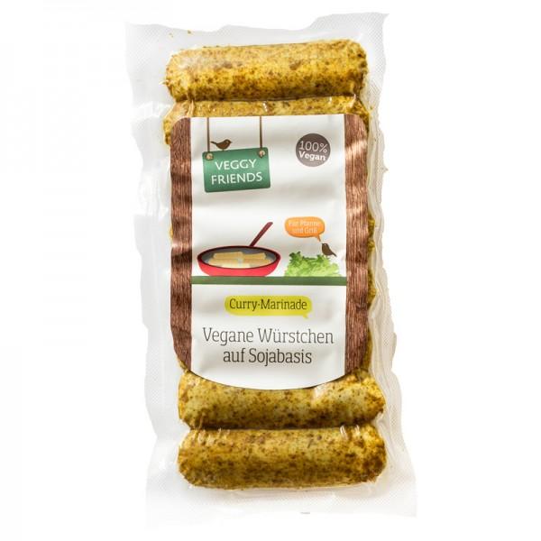 Veggy Friends Würstchen Curry-Marinade VPE