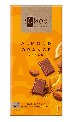 iChoc Almond Orange BIO VPE