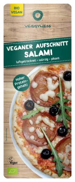 Veggyness Veganer Bio Aufschnitt Salami VPE