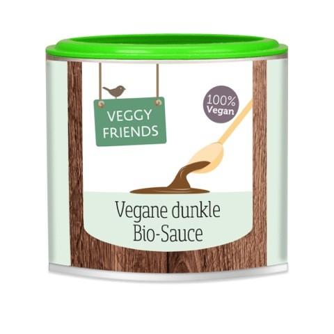 Vegane dunkle BIO Sauce VPE