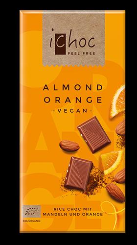 iChoc Almond Orange BIO TAFEL VPE