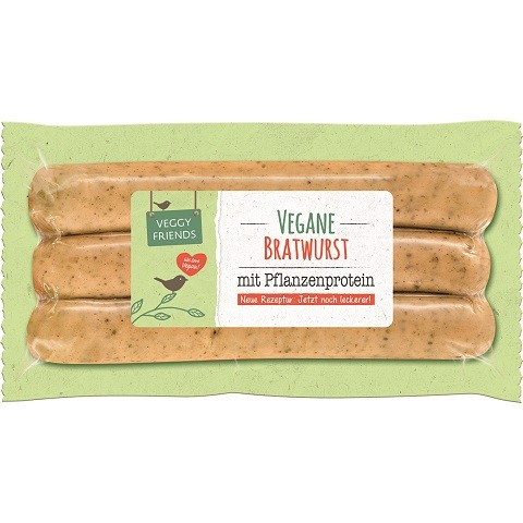 Veggy Friends Vegane Bratwurst