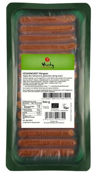 Wheaty Veganwurst Merguez 600 g VPE