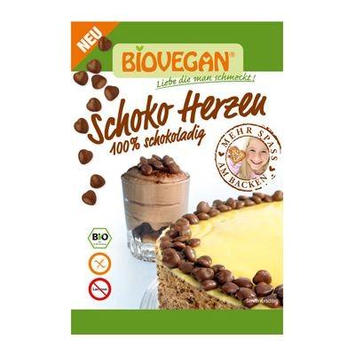 Biovegan Dekor Schoko Herzen VPE