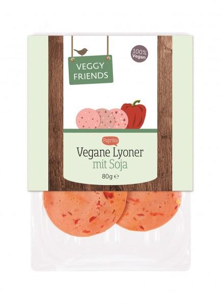 Veggy Friends Aufschnitt Lyoner Paprika VPE