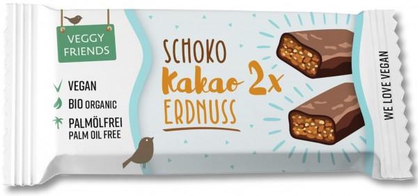 Schokoriegel Kakao-Erdnuss BIO VPE