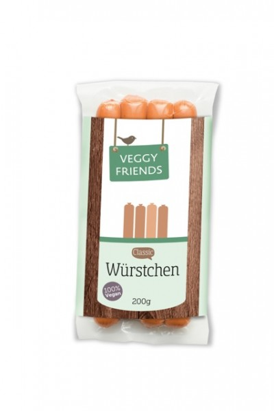 Veggy Friends Würstchen Classic VPE