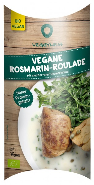 Veggyness Vegane Bio Rosmarin Roulade VPE