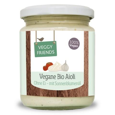 Veggy Friends Vegane BIO Knoblauch Mayonnaise VPE