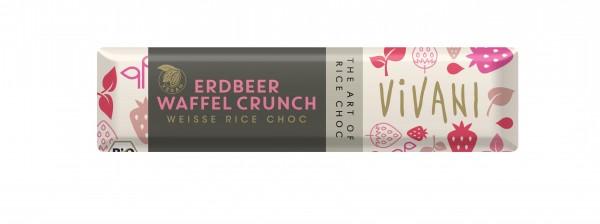 Veganer Erdbeer Crunch BIO RIEGEL VPE