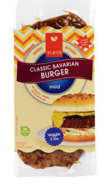 Viana BIO Classic Bavarian Burger VPE